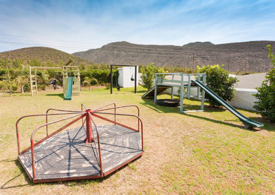 Playground at Oue Werf Guest House Oudtshoorn