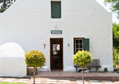 Reception of Oue Werf Country House Oudtshoorn