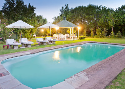 Swimming Pool at Oue Werf Country House Oudtshoorn